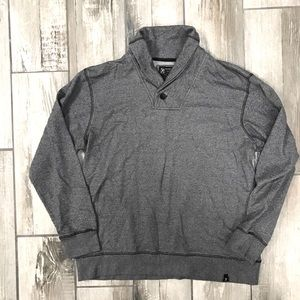 Marc Ecko Euro Collar Thermal Pullover